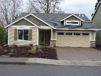 photo of completed Shearwater home plan