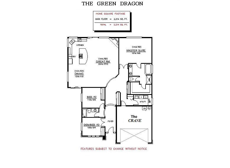 Green dragon house floor plans escortsea for Green home floor plans